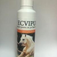 ECVIPUR, şampon din extract de plante pentru cai
